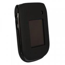 Blackberry Compatible Rubberized Protective Shield - Black  BB9670RUBBK