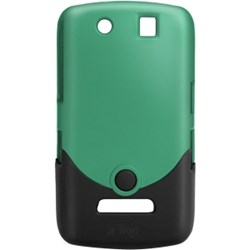 Blackberry Compatible Luxe Case- Teal and Black  BLKBRY95STTEABLK