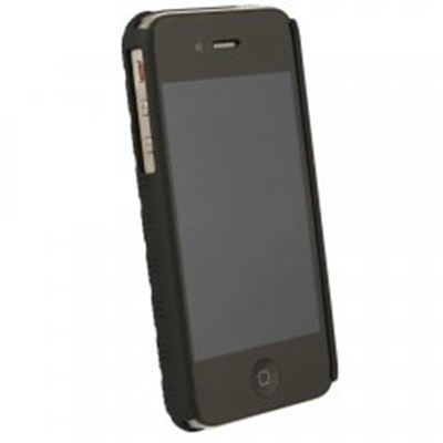 Apple Compatible Holster and Protective Cover Combo - Black  FXCOVIPHONE4