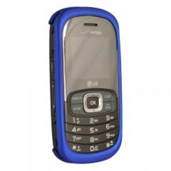 LG Compatible Rubberized Protective Shield - Dark Blue VN530RUBDKBL