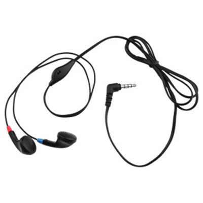 ECO 3.5mm Stereo Headset with Microphone - Black 11420NZ