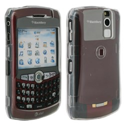 Blackberry Compatible Snap-on Cover - Clear FS-BB8330-TCL