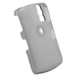 Blackberry Compatible Snap-on Cover - transparent smoke FS-BB8330-TSM