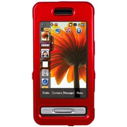 Samsung Compatible Snap-on Cover - Honey Red FS-SAR810-SRD