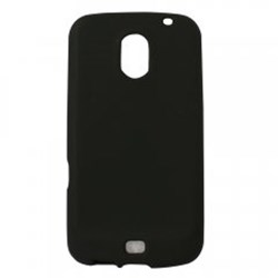 Samsung Compatible Silicone Gel Cover - Black SILI515BK