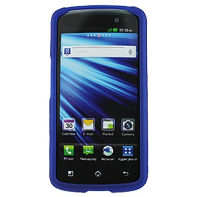 LG Compatible Rubberized Snap-on Cover - Blue FS-LGP930-RBU
