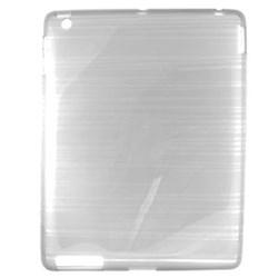 Apple Compatible Crystal TPU Skin Cover - Clear TPU-IPAD2-TCL