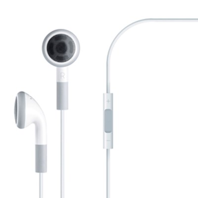 Apple Compatible Stereo Handsfree Headset with Volume Control and Mic  11801NZ