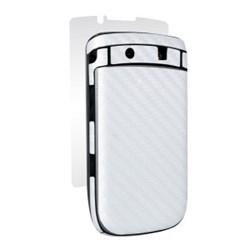 Blackberry Compatible BodyGuardz Armor Carbon Fiber - White BZ-ACWT2-0811
