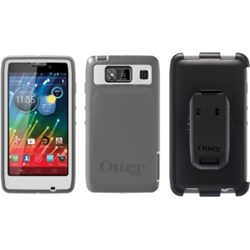 Motorola Compatible Otterbox Defender Rugged Interactive Case and Holster - Glacier 77-20138