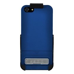Apple Compatible Seidio Surface Case and Holster Combo with Kickstand - Royal Blue  BD2-HR3IPH5K-RB