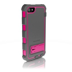 Apple Compatible Ballistic Hard Core (HC) Case and Holster Combo - Pink and Grey  HC0956-M115