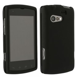 Kyocera Compatible Rubberized Protective Cover - Black RISERUBBK