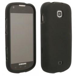 Samsung Rubberized Protective Shield - Black  STELLARRUBBK