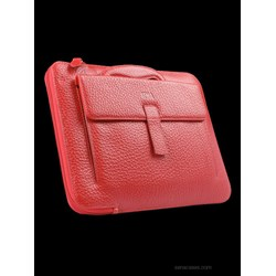 Apple Compatible Sena Collega Leather Travel Case - Red  03-2750