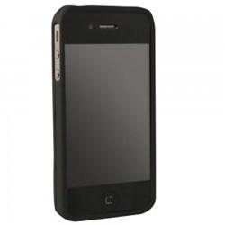 Apple Compatible Rubberized Protective Cover - Black 4SRUBBK