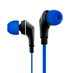 NoiseHush NX80 Handsfree Stereo 3.5mm Headset - Blue and Black  NX80-11904