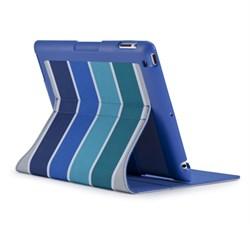 Apple Compatible Speck FitFolio Hybrid Folio - ColorBar Arctic Blue SPK-A1660