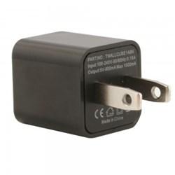 Cube USB Wall Charger - Black TWALLCUBE1ABK