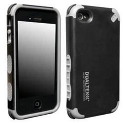 Apple Compatible PureGear DualTek Extreme Impact Case - Black and Gray  02-001-01375