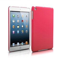 Apple Compatible Naztech Rubberized SnapOn Cover - Hot Pink 12235NZ