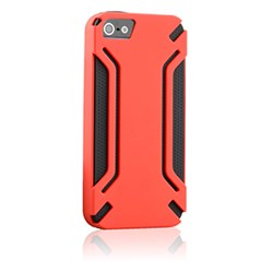Apple Compatible HyperGear Virgo Dual-Layered Protective Cover - Red and Black 12307-HG
