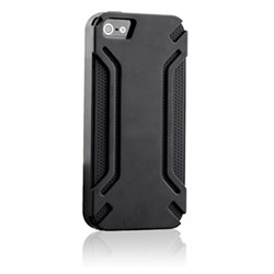 Apple Compatible HyperGear Virgo Dual-Layered Protective Cover - Gray and Black 12309-HG