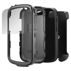 Blackberry Compatible Otterbox Defender Rugged Interactive Case and Holster - Black  77-27907