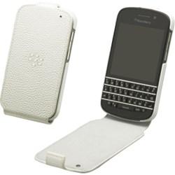 Blackberry Original Flip Shell Case - White  ACC-50707-302