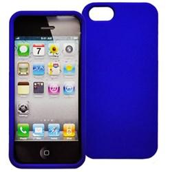 Apple Compatible Decoro Brand Premium Protector Case - Rubber Blue CRIP5BL