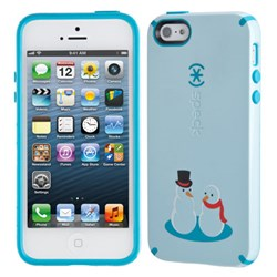 Apple Compatible Speck Holiday Series Candyshell Case - Frosty Friends  SPK-A1852