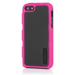 Apple Compatible Incipio Stanley Foreman Hybrid Case and Holster - Black and Pink  STLY-010