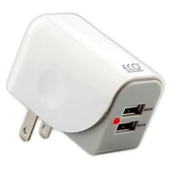 Eco Universal 3.1 Amp Dual USB Wall Charger  12272-NZ