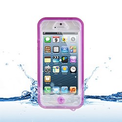 Apple Compatible Naztech Vault Waterproof Cover - Pink 12577-NZ