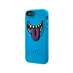 Apple Compatible SwitchEasy Monsters Silicone Case - Wicky (Blue)  SW-MONI5-BL