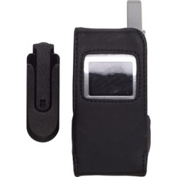 LG Compatible Standard Leather Case with Swivel Belt Clip LC4050PS  (OS)