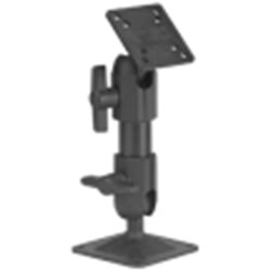Slimline 2000 Pedestal Mount with Hand Knobs and Small Foot - 9 inch
