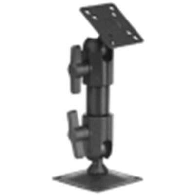 Slimline Pedestal Mount with Hand Knobs - 6 inch   727-06